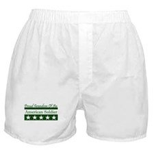 Grandson of American Soldier Boxer Shorts