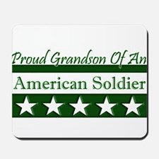Grandson of American Soldier Mousepad