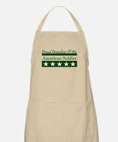 Grandson of American Soldier BBQ Apron