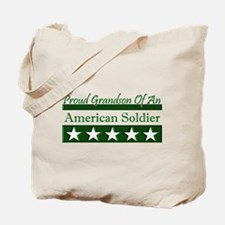 Grandson of American Soldier Tote Bag