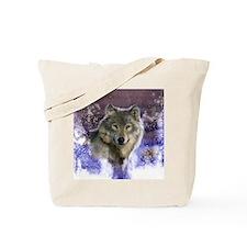Wolf Still Life Tote Bag