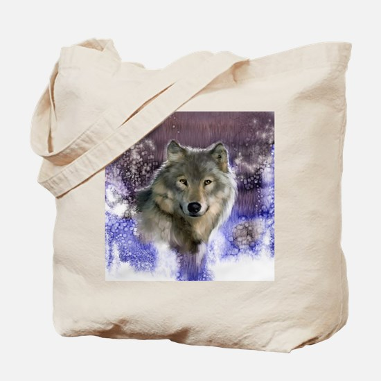 Wolf Still Life Tote Bag