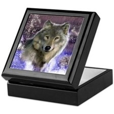 Wolf Still Life Keepsake Box