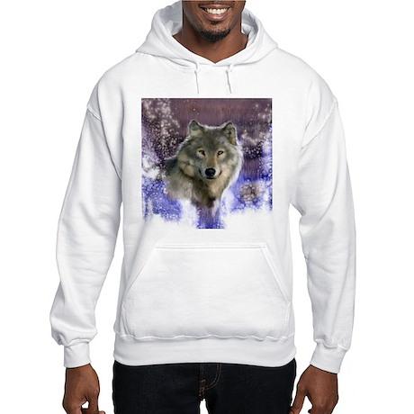 Wolf Still Life Hooded Sweatshirt