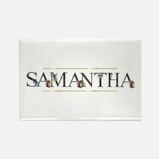 Samantha Rectangle Magnet