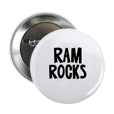 "Ram Rocks 2.25"" Button"