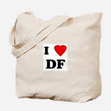 I Love DF Tote Bag