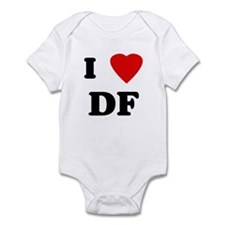 I Love DF Infant Bodysuit