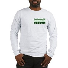 Grandfather of American Soldi Long Sleeve T-Shirt