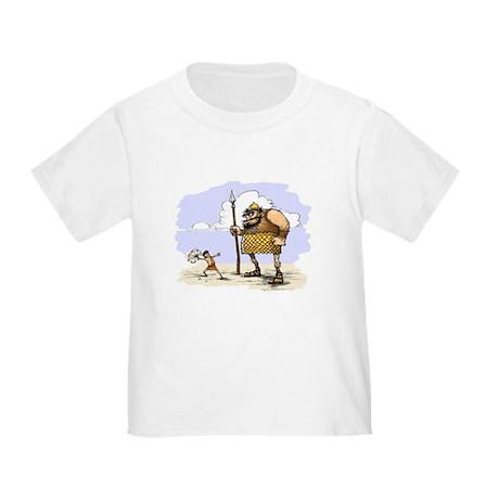 David & Goliath Toddler T-Shirt
