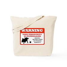 Chihuahua Security Tote Bag