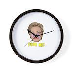 Poor Me! Wall Clock
