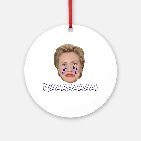 Waaaaaaaaaaa! Ornament (Round)