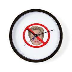 Crying Hillary Wall Clock