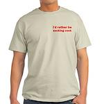 Sucking Cock Light T-Shirt