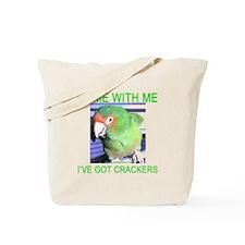 I've Got Crackers Tote Bag