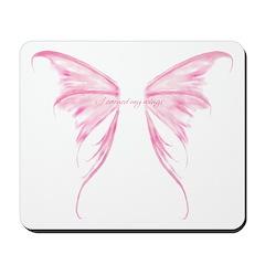 I earned my wings Mousepad