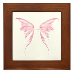 I earned my wings Framed Tile