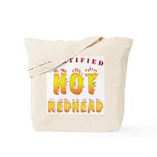 Cert. Hot Redhead Tote Bag