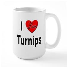 I Love Turnips Mug