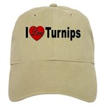 I Love Turnips Cap