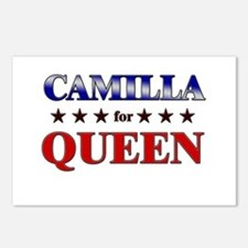 CAMILLA for queen Postcards (Package of 8)