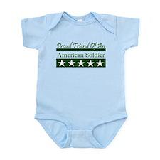 Friend of American Soldier Infant Bodysuit