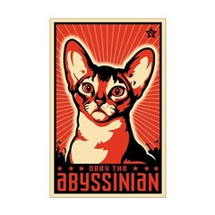 Obey the Abyssinian! Propaganda Posters