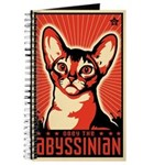 Abyssinian - Cat World Domination Journal