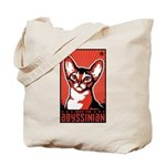 Obey the Abyssinian! - Cat Tote Bag