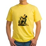 Vinny the Pug Yellow T-Shirt
