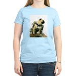 Vinny the Pug Women's Light T-Shirt