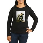 Vinny the Pug Women's Long Sleeve Dark T-Shirt