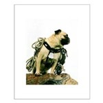 Vinny the Pug Small Poster