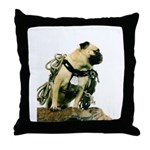 Vinny the Pug Throw Pillow