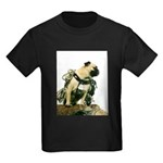 Vinny the Pug Kids Dark T-Shirt