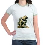Vinny the Pug Jr. Ringer T-Shirt