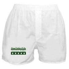 Father of American Soldier Boxer Shorts