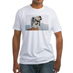 Vinny the Pug Fitted T-Shirt