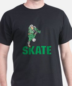 Skate Green Logo T-Shirt