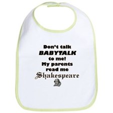 "Baby Collection - ""Shakespeare"" Bib"