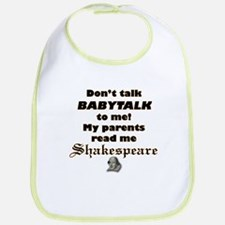 """Baby Collection - """"Shakespeare"""" Bib"""