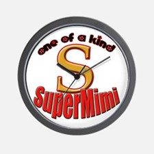 click to view Super Mimi Wall Clock