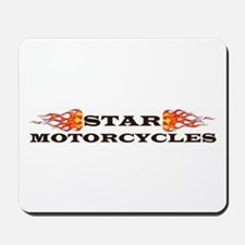 Cute Star motorcycle Mousepad