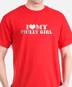 I Love My Philly Girl T-Shirt
