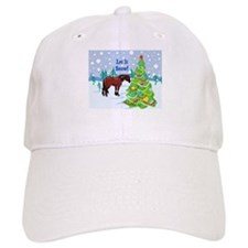Let It Snow Clydedale Holiday Baseball Cap