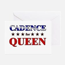 CADENCE for queen Greeting Card