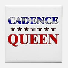 CADENCE for queen Tile Coaster