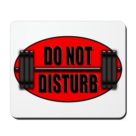 DO NOT DISTURB II Mousepad