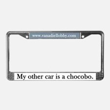 """Chocobo"" License Plate Frame"